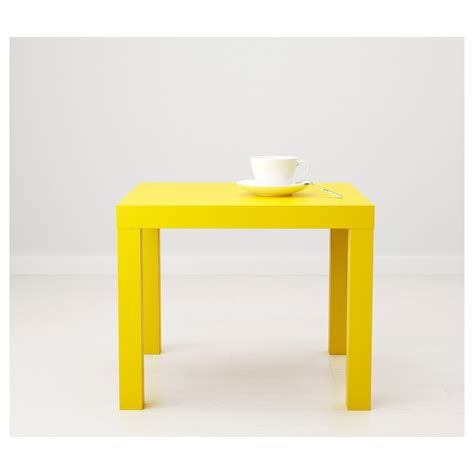 Ikea Side Table Lack Side Table Yellow 55x55 Cm Ikea