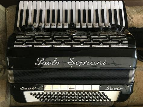 paolo soprani super paolo cassotto professional accordion  edmonton kijiji