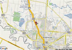 maps brownsville map of homewood suites by brownsville brownsville