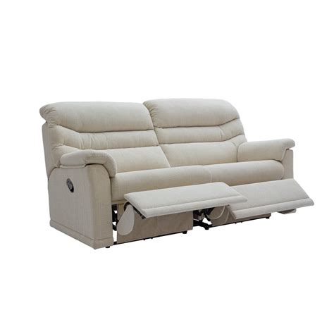 2 cushion reclining sofa g plan malvern 3 seater recliner 2 seat cushion fabric
