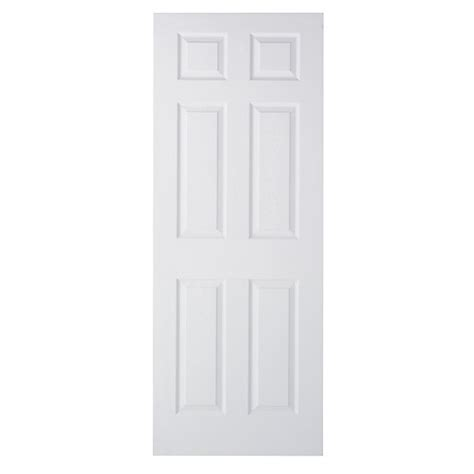 Wickes Interior Doors Wickes Woburn Moulded Door White Primed Grained 6 Panel 1981x762mm Wickes Co Uk