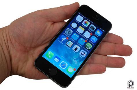 Iphone 5 5s Diskon Diskon 1 apple iphone 5s tud ujjat mutatni mobilarena okostelefon teszt