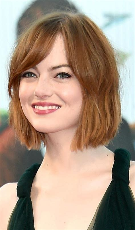hair styles that flatter round faces 20 ideas of rebonded short hairstyles