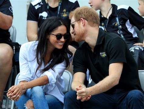 harry meghan prince harry and meghan markle at invictus games 2017