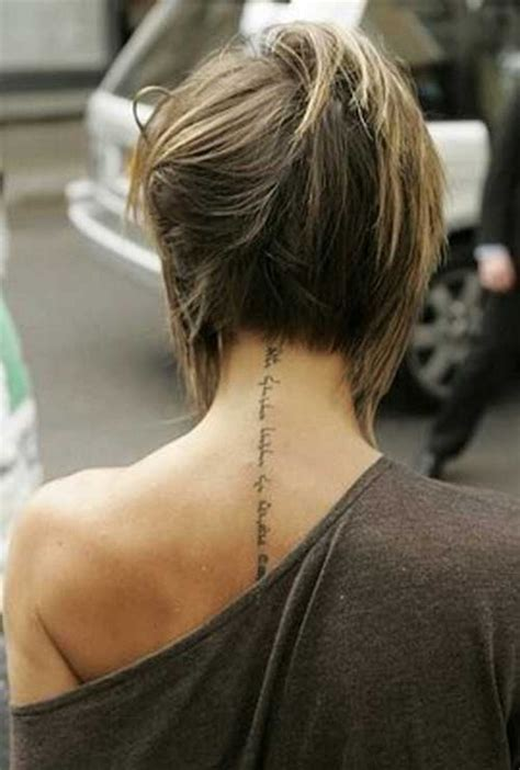 The Backs Of Womens Short Haircuts | back view short haircuts