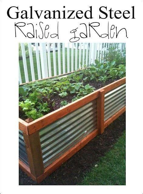 galvanized raised garden bed pin by melissa empressofdirt net on garden containers