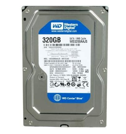 hdd pc 320gb wd má i bh cty â ä 224 lẠt laptop