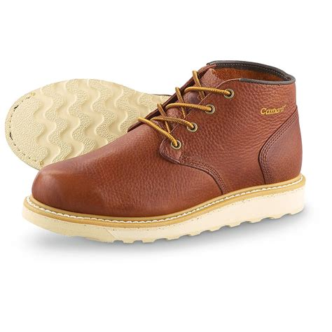mens chukka work boots s carhartt 174 wedge work chukkas brown 172168 work