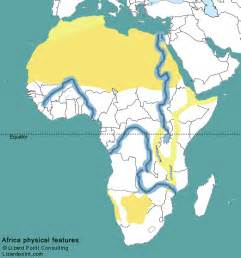 Map Of Africa With Rivers by Colored Physical Map Of Africa With Labels Pictures To Pin