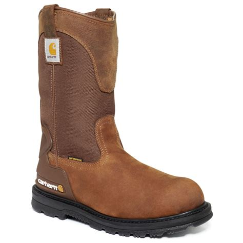 carhart boots carhartt 11 inch bison waterproof work boots in brown for