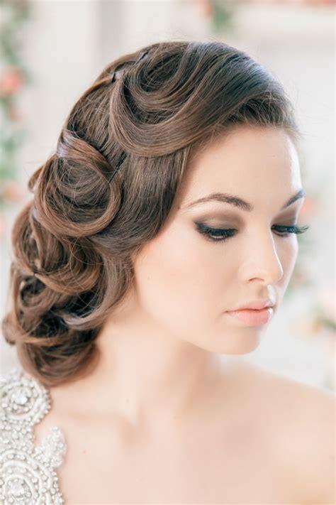 hochzeitsfrisuren vintage 55 id 233 es romantiques de coiffure mariage cheveux longs