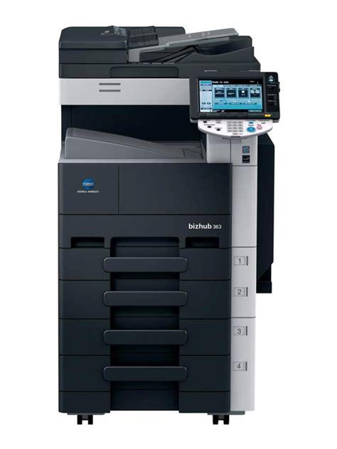 Mesin Fotocopy Konica Minolta Bizhub 501 konica minolta bizhub 363 konica minolta copiers chicago