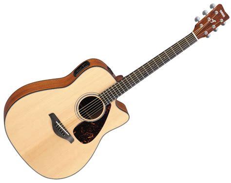 Gitar Yamaha Akustik yamaha fgx700sc acoustic electric guitar with cutaway