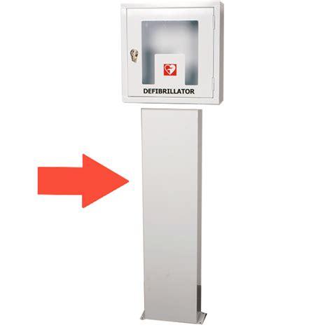 defibrillatore interno piantana per armadietto teca per defibrillatore 25x15xh