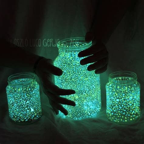 cool easy crafts for glowing jar favething