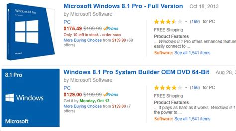 whats  difference   system builder  full version editions  windows