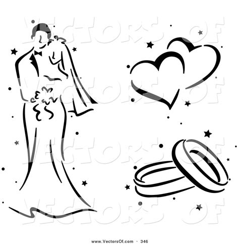 Wedding Ring Clipart Black And White by Wedding Clipart Black And White Clipart Panda Free