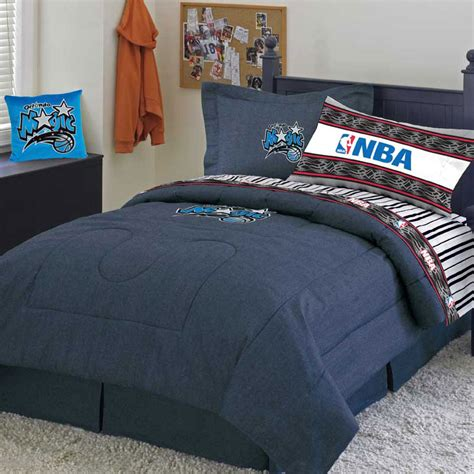 nba comforter sets orlando magic team denim twin comforter sheet set