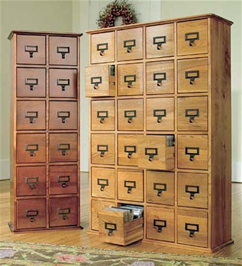 Vintage Style Filing Cabinet retro style wooden multimedia library file cabinets
