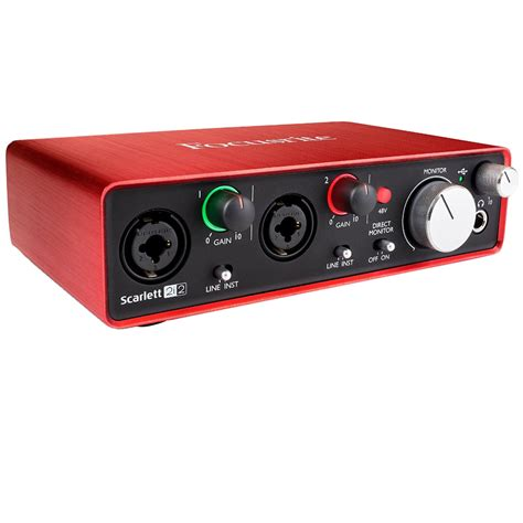 Focusrite 2i2 2nd Audio Interface focusrite 2i2 usb audio interface 2nd generation w pro bundle ebay