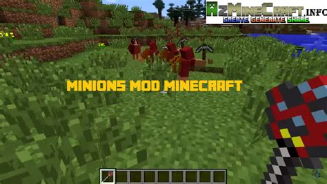mods in minecraft for 1 8 minions mod 1 8 8 1 8 1 7 10 download mods artseo biz