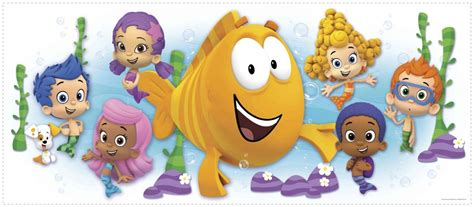 bubble guppies bedroom decor giant bubble guppies wall decal kids bedroom bathroom
