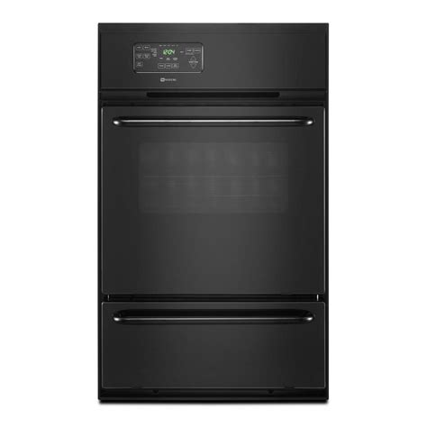Oven Gas Built In shop maytag 24 quot gas single built in oven at lowes