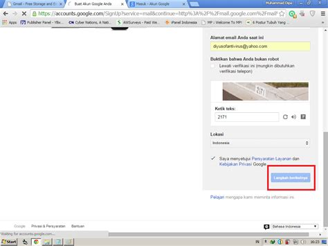 cara membuat email baru play store cara membuat akun email sendiri da blog dipa artikel blog