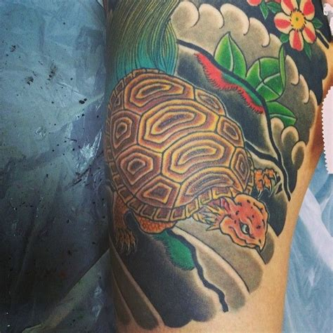 japanese turtle tattoo 33 best helmuth images on arm tattoos
