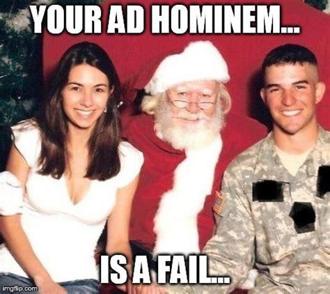 Ad Hominem Meme - imgflip