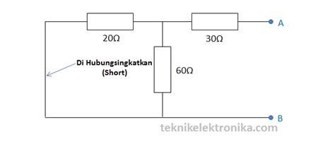 basis transistor d400 perhitungan resistor basis pada rangkaian 28 images pengertian teorema thevenin dan cara