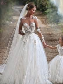 robe de mariã e le havre illusion neckline tulle sleeve wedding gowns with appliques robe de mariage 2015 dress edd