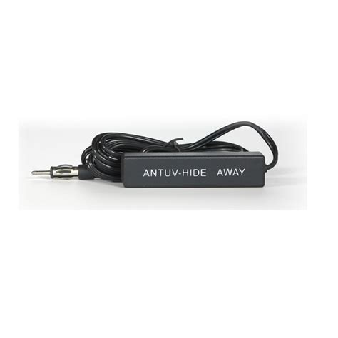 custom autosound antuv hideway hide  radio antenna