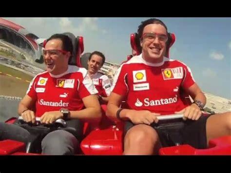 Ferrari World Working Hours by Ferrari World S Fastest Roller Coaster Ride Dubai Hd 1080p
