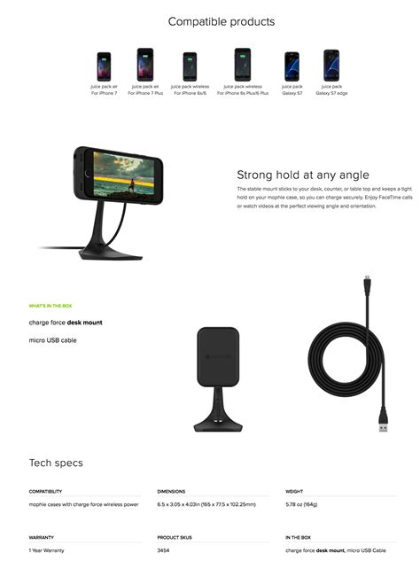 mophie charge desk mount mophie charge desk mount for mophie wireless