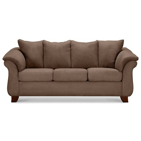 furnisher sofa adrian taupe sofa value city furniture