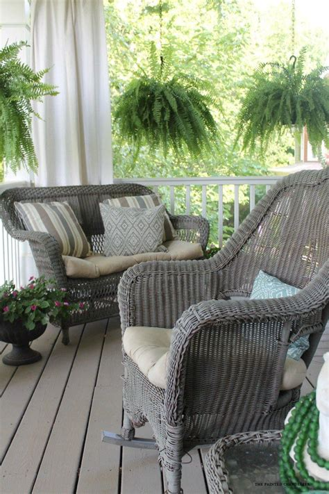 25 best ideas about painting wicker furniture on painting wicker painted wicker