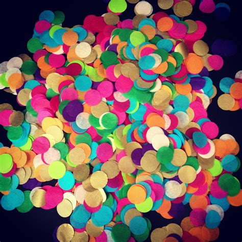 Table Confetti by Tissue Paper Confetti Table Decoration By Pomlove
