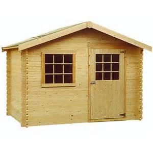 cabane de jardin en bois jardin