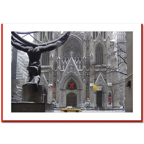 st patricks cathedral new york city nyc christmas photo