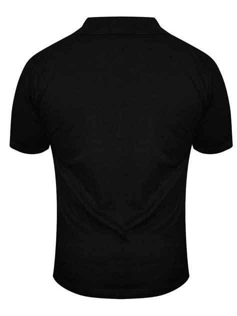 Osella Polo Shirt Solid Black buy t shirts pepe black polo t shirt polo