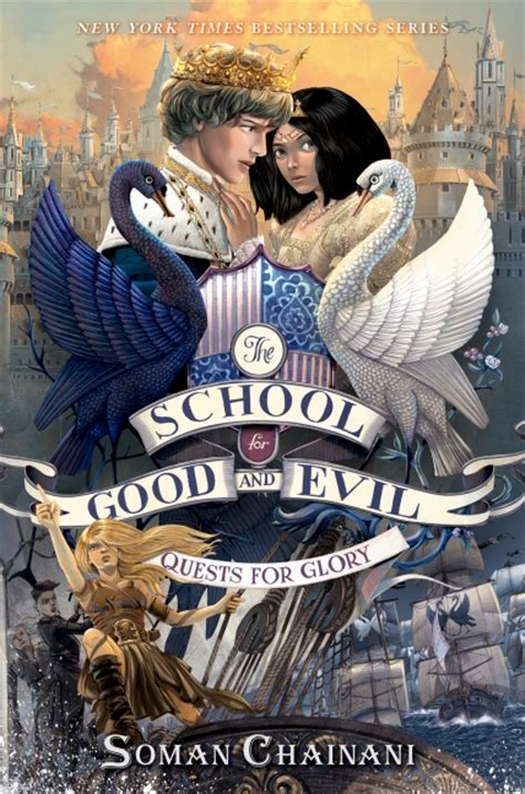 School For Evil 4 Soman Chainani the school for and evil 4 quests for soman chainani hardcover