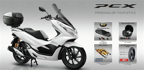 Pcx 2018 Abc by Shad Indonesia All New Honda Pcx 150 2018 With Shad Top