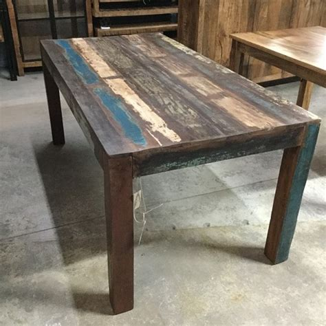 reclaimed wood dining table reclaimed wood dining table nadeau orleans