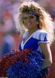 Nfl Cheerleader Hair | history of nfl cheerleader uniforms and their hairstyles