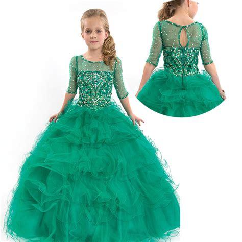 dresses for kid compra turquesa vestidos para ni 241 os al por mayor de