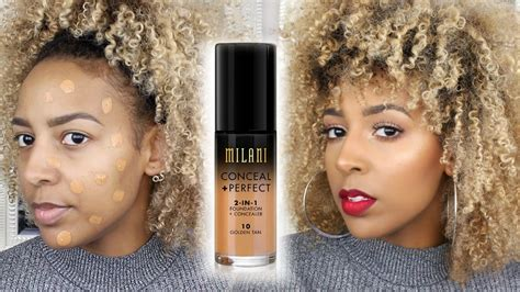 10752 Mirani 2 In 1 milani conceal 2 in 1 foundation demo review