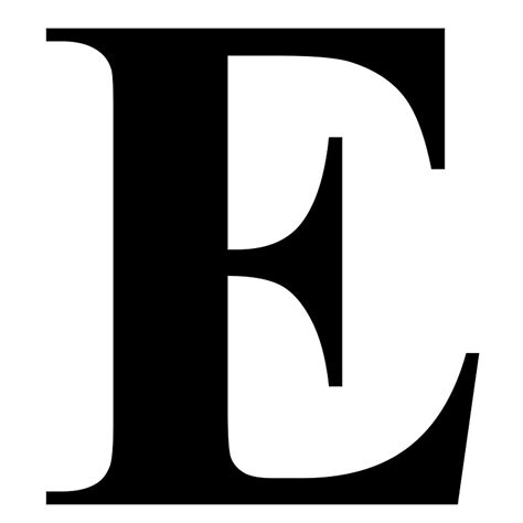 letter e typography letter e black www pixshark images galleries with a bite
