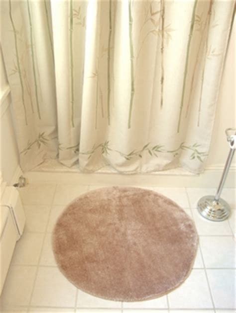 Laurens Linens Decorative Plush Bathroom Rug 30 Quot Round Rug Decorative Bathroom Rugs