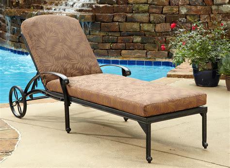 furniture comfortable sunbrella chaise lounge cushions